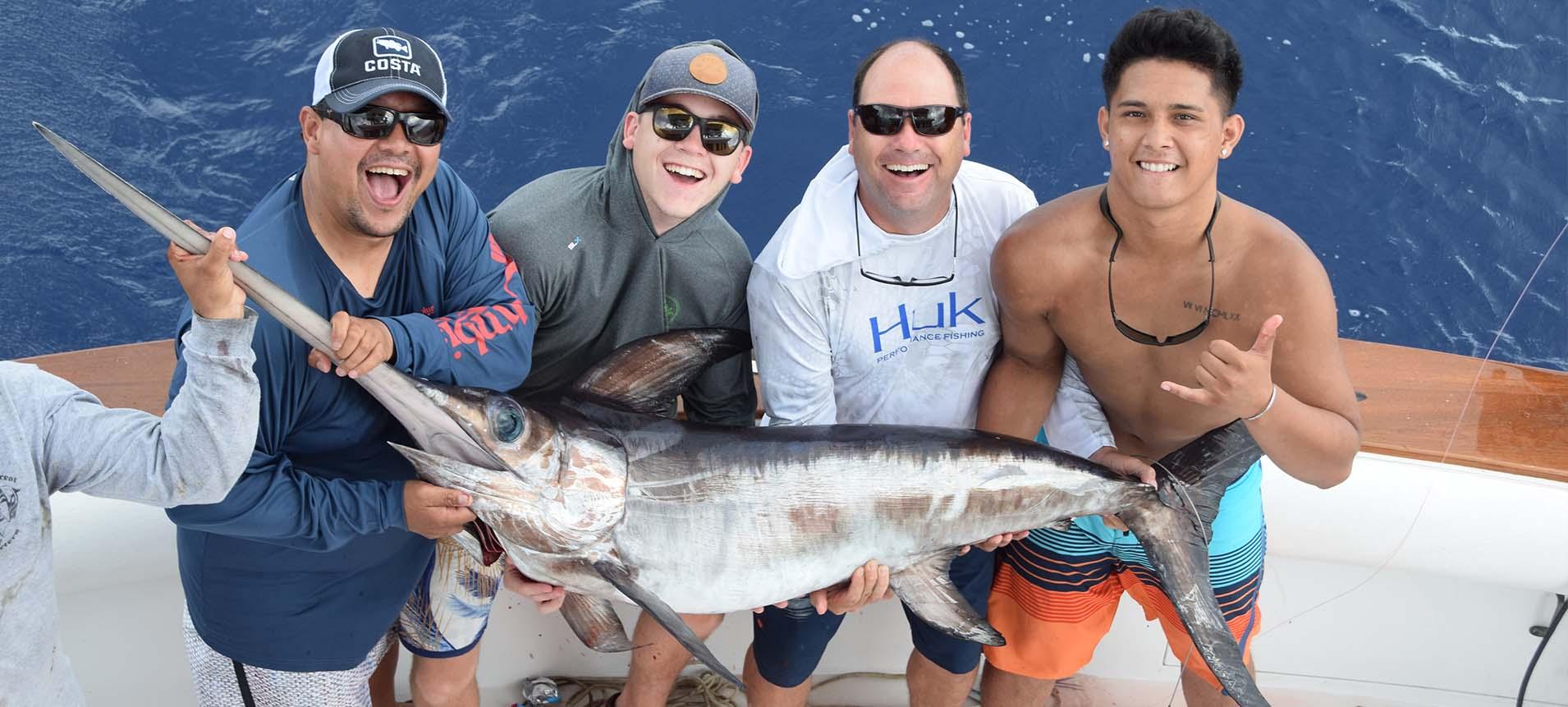 Daytime Swordfish Miami