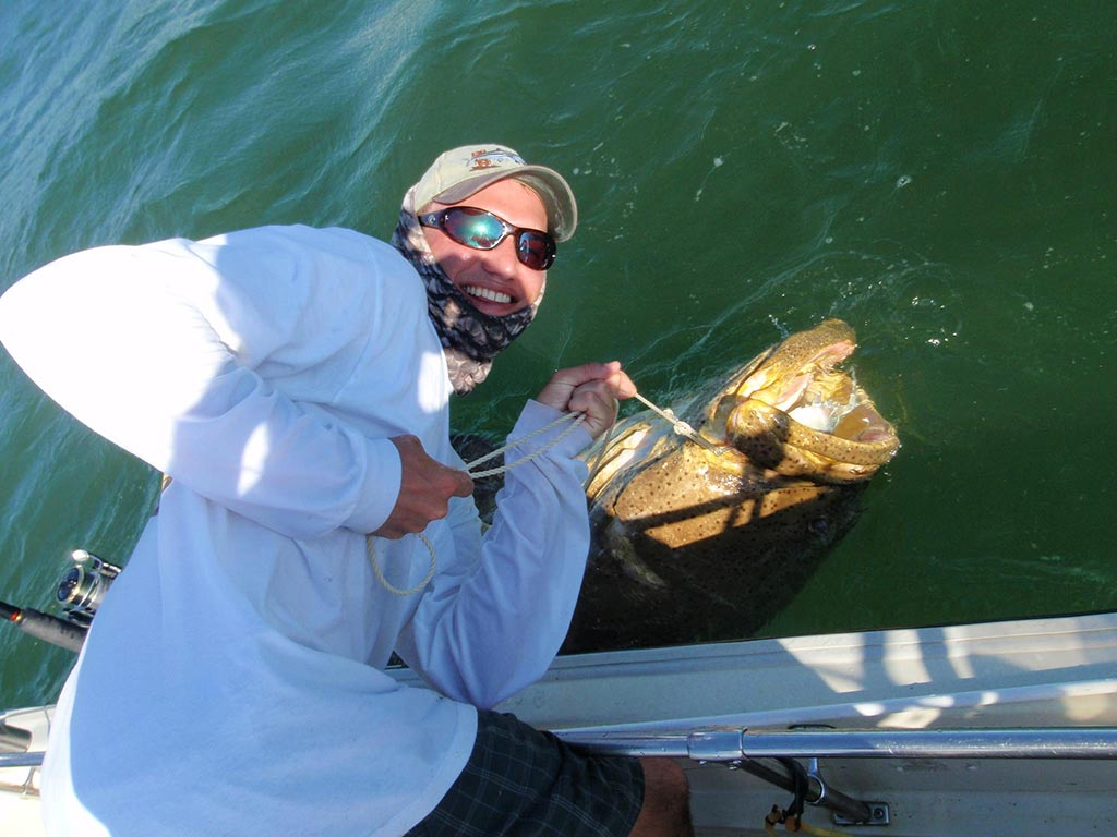 Goliath Grouper Fishing Miami