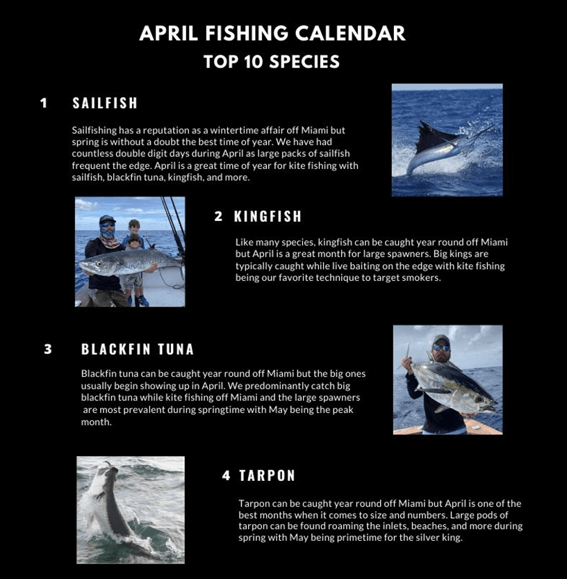 april fishing calendar miami