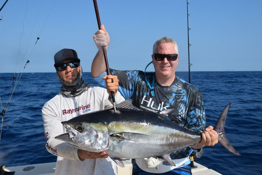 Miami offshore fishing charters for Tuna fishing trips