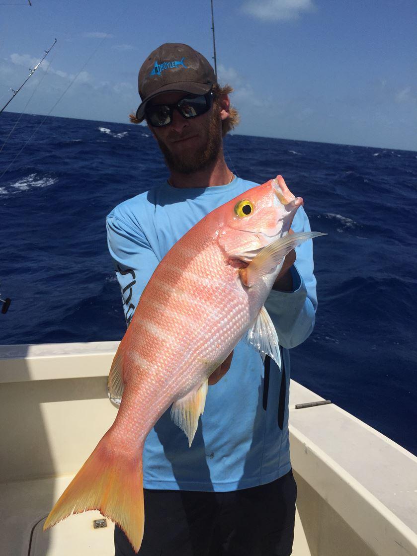 Yellow-eye snapper fishing miami
